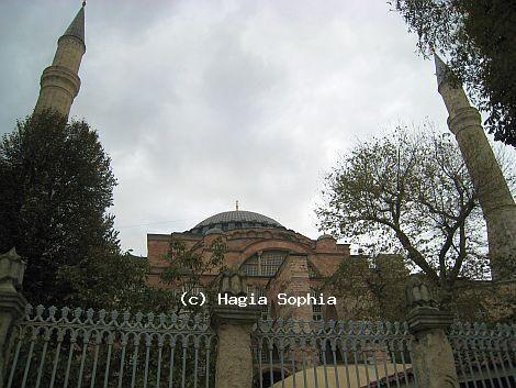 Ayasofya'nın Konumu