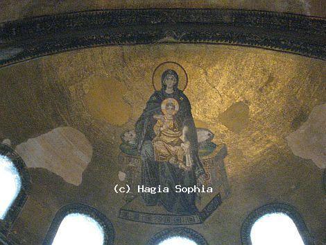 Hagia Sophia Apse Mosaic