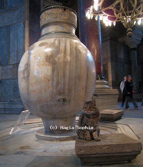 Hagia Sophia Marble Jars