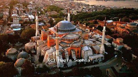 Hagia Sophia at Dan Brown's Inferno